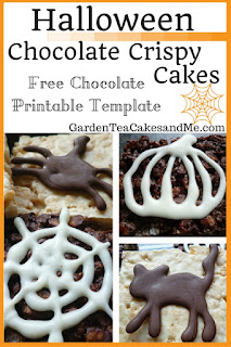 Halloween Chocolate Crispy Cake Recipe Printable
