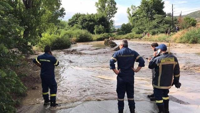 Θεσσαλονίκη: Νεκρός άνδρας από την κακοκαιρία-Το όχημά του παρασύρθηκε από τα νερά