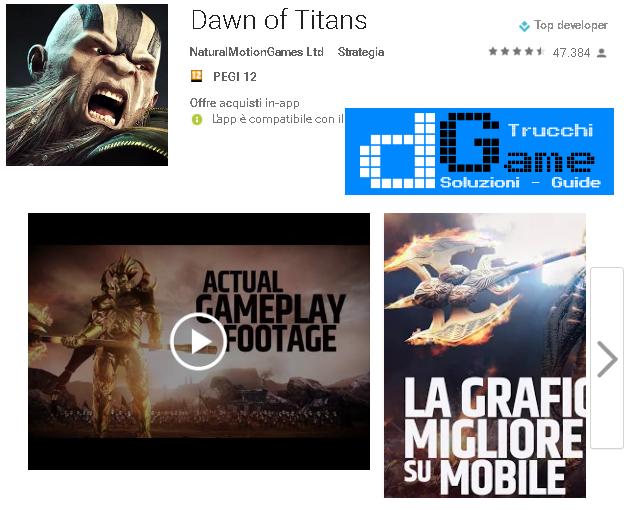 Trucchi Dawn oh'f Titans Mod Apk Android