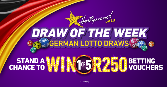 Stand a Chance to Win 1 of 5 R250 vouchers