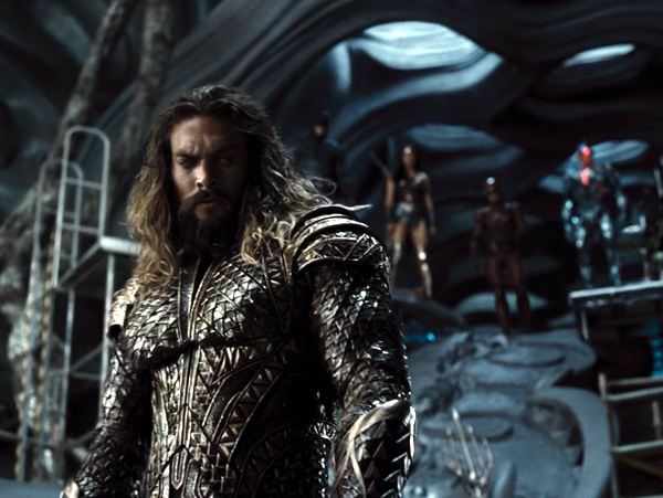 Aquaman is ready to do his part in defeating Steppenwolf in ZACK SNYDER'S JUSTICE LEAGUE.