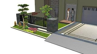desain taman halaman depan | www.jasataman.co.id