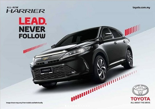 harga all new toyota harrier