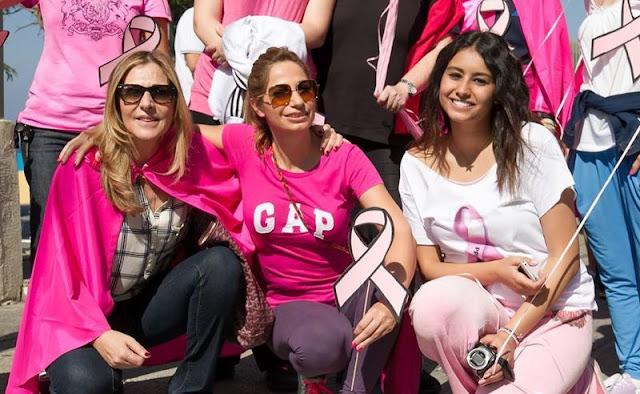 """هكذا هزمت """"ميرنا حب الله"""" سرطان الثدي"""