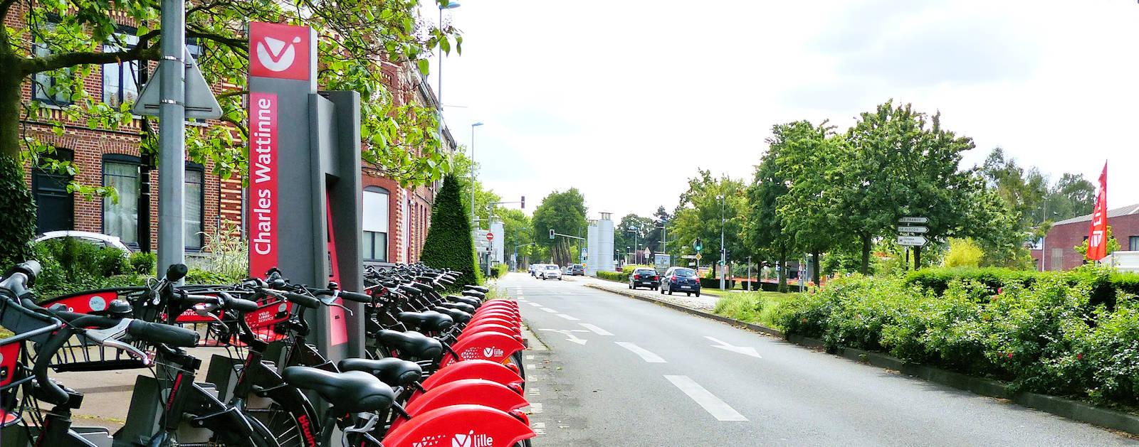 Station V'Lille Charles Wattinne, Tourcoing