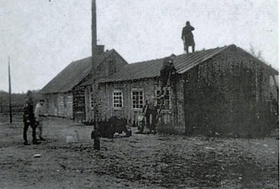 Barakken van Kamp Sobibor