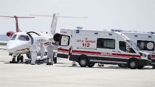 بالفيديو: لحظة وصول طائرة تركية من السويد إلى أنقرة على متنها مواطن تركي مصاب بكورونا