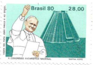 Selo Papa João Paulo II no Rio de Janeiro