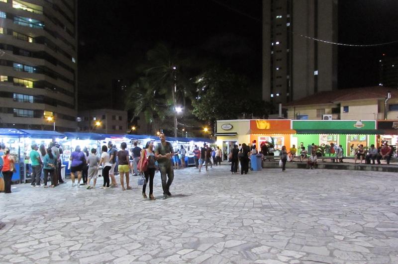 Feiras de artesanato Recife, Praia de Boa Viagem