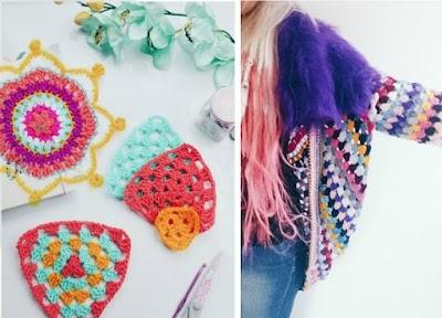 Aprendiendo a tejer mandalas de crochet