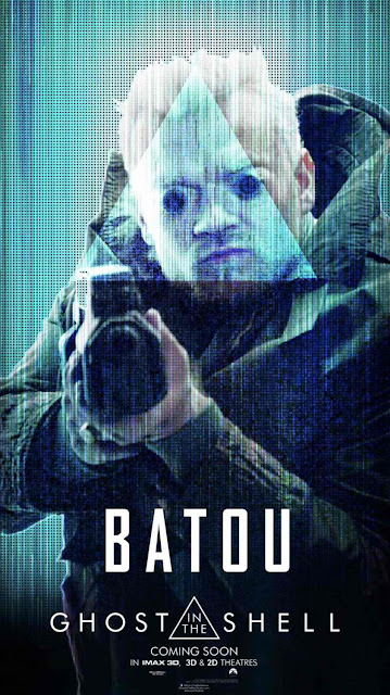 Ghost in the Shell - Batou Character Poster