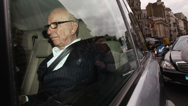 Rupert Murdoch, car, networth, personal jet, billionaire