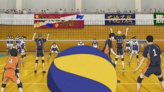 ハイキュー!! アニメ 2期12話 | HAIKYU!!  Ohgiminami high vs Karasuno