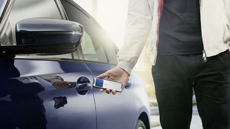 android 12 bisa kunci digital mobil