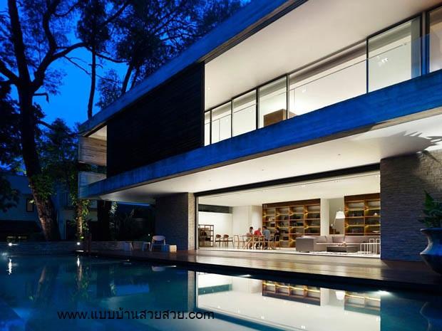 แบบบ้านสวยสวย