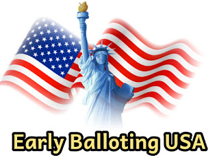 Us election: States that allow and don't allow early balloting