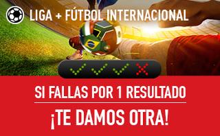 sportium Fútbol Combinadas con seguro 8-10 septiembre