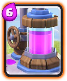 Carta Coletor de Elixir de Clash Royale - Wiki da Carta