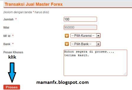 Cara wd di masterforex