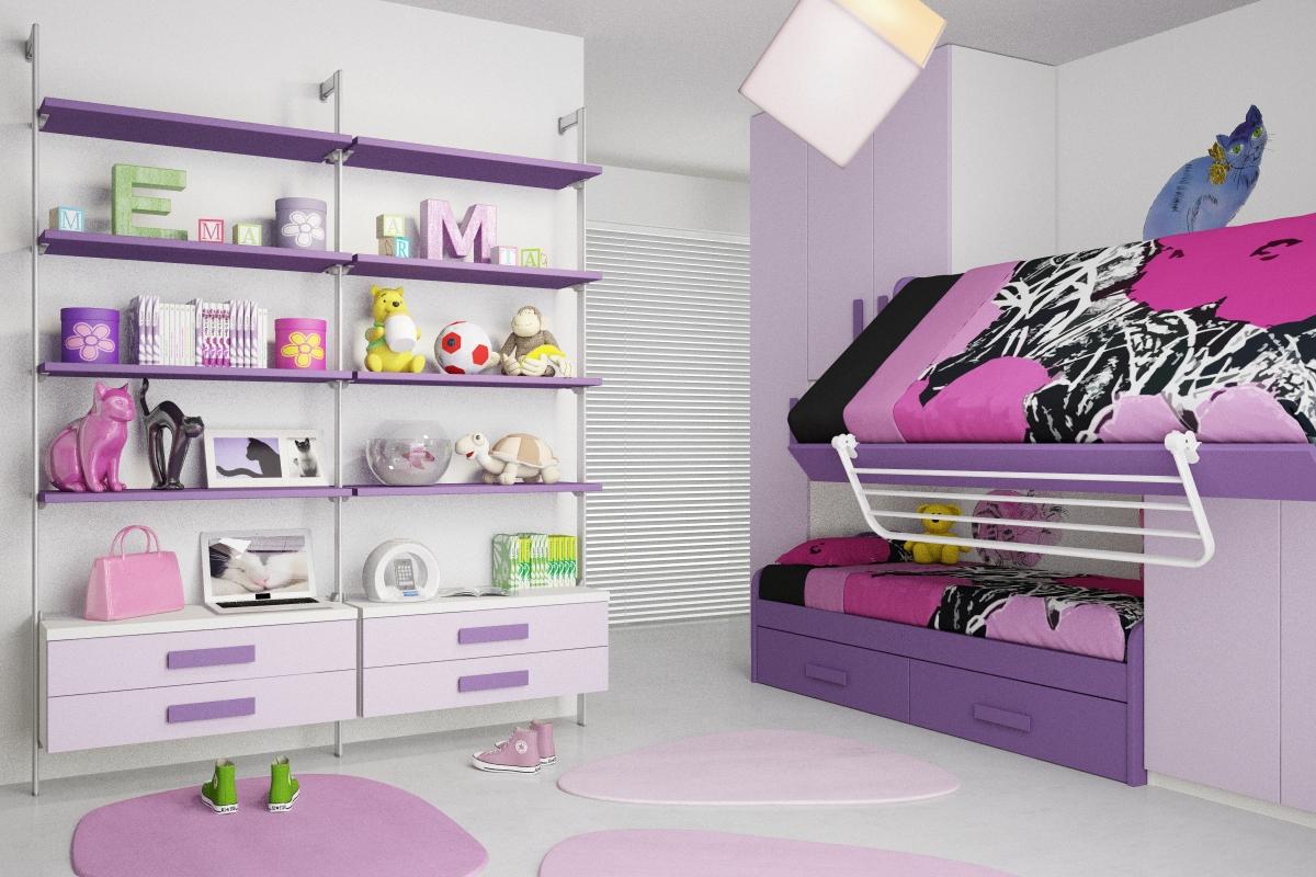 Bonetti camerette bonetti bedrooms novita 39 camerette 2012 for Camere ragazze
