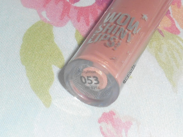Gloss Labial Wow Shiny Lips da Ruby Rose - Cor 053