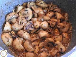 Ciuperci prajite preparare reteta,