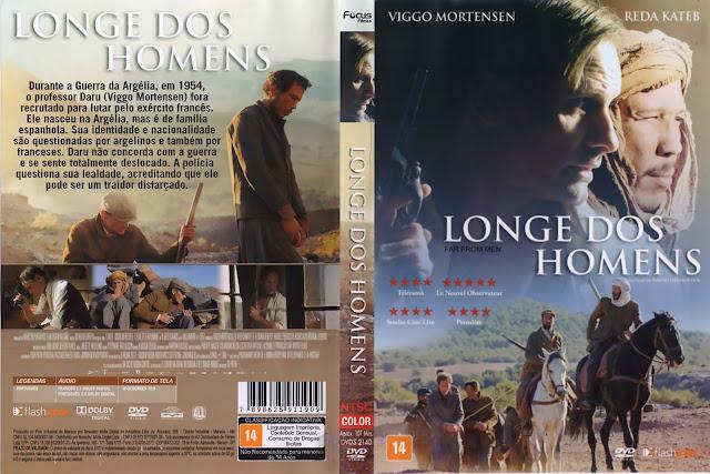 Capa DVD Longe Dos Homens (Oficial)