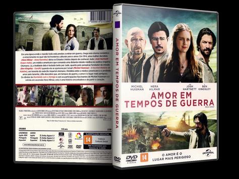 Capa DVD Amor em Tempos de Guerra