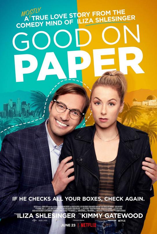 Good On Paper, Comedy, Romance, Feel Good, Netflix, Movie Review by Rawlins, Rawlins GLAM, Rawlins Lifestyle