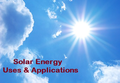 application of solar energy uses