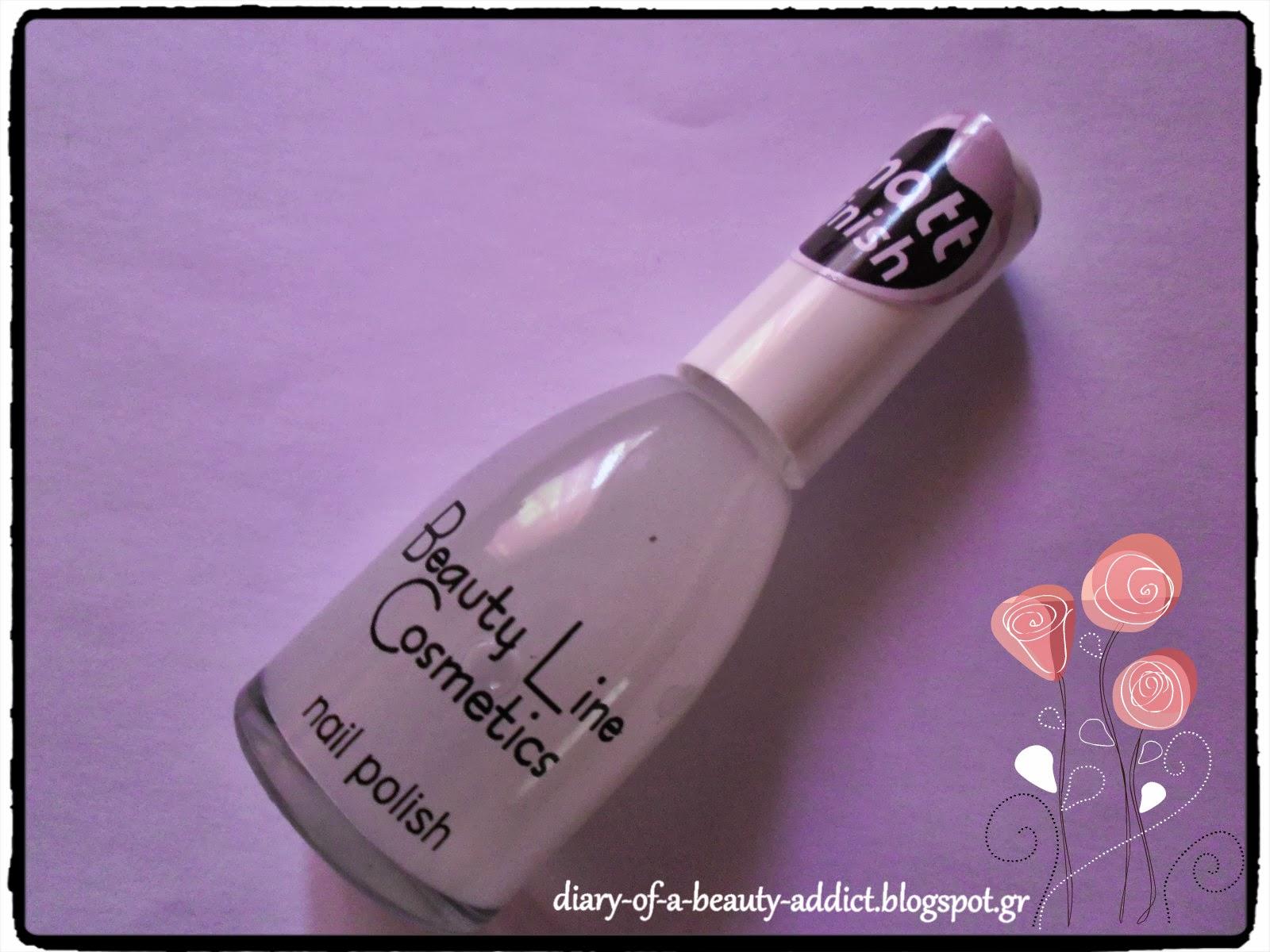 Beauty Line Cosmetics Nail Polish/Matt Finish
