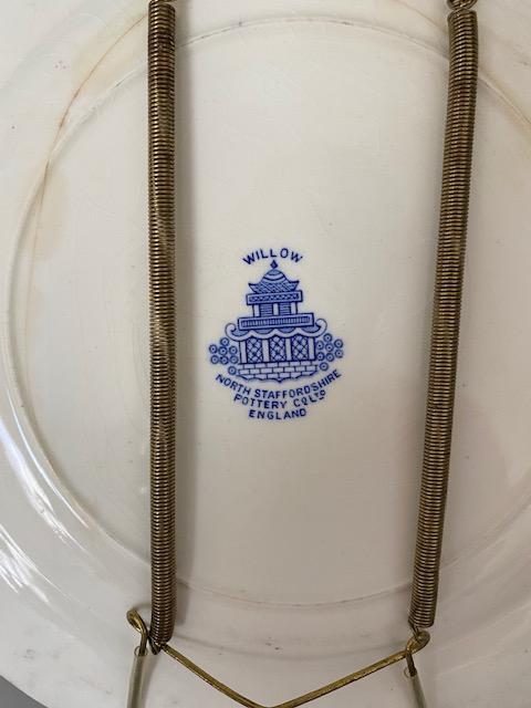 North Staffordshire Pottery Co. Ltd. England maker's mark plate