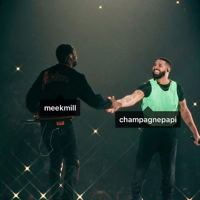 BEEF WITH DRAKE AND MEEK MILL IS OVER