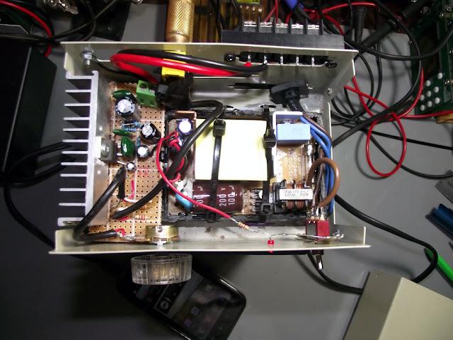 Montagem do amplificador