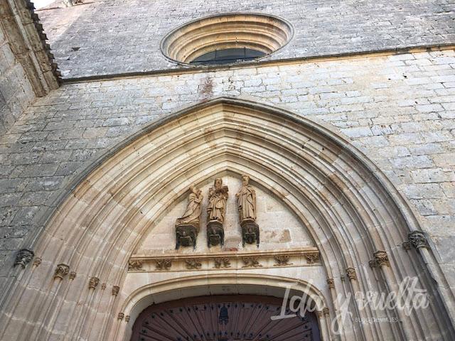 Monasterio de San Pedro de Cardeña portada gótica