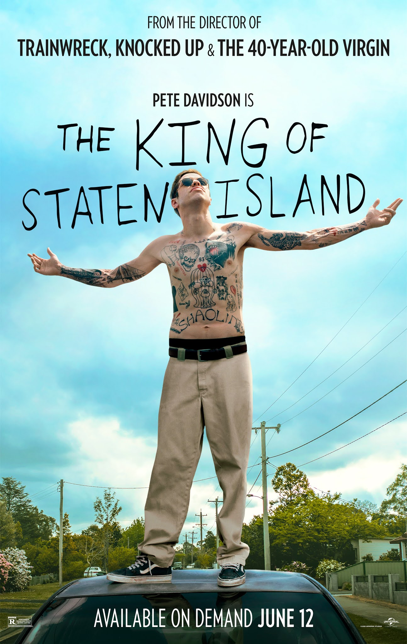 The King of Staten Island (BRRip 720p Ingles Subtitulado) (2020)