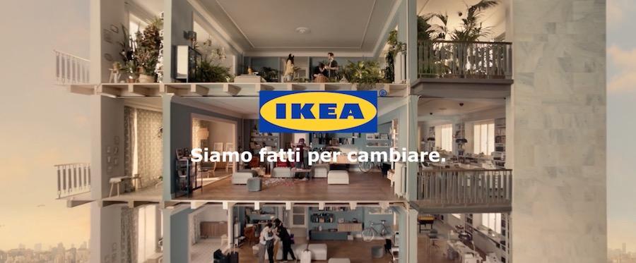 Canzone Pubblicità IKEA 2017 Siamo fatti per cambiare, Spot 2017