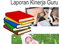 Download Contoh Laporan Capaian Kinerja Harian Guru Bahasa Arab.xls