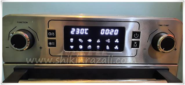 Giselle Air Fryer Oven | Gajet dapur yang mudah 10 dalam 1
