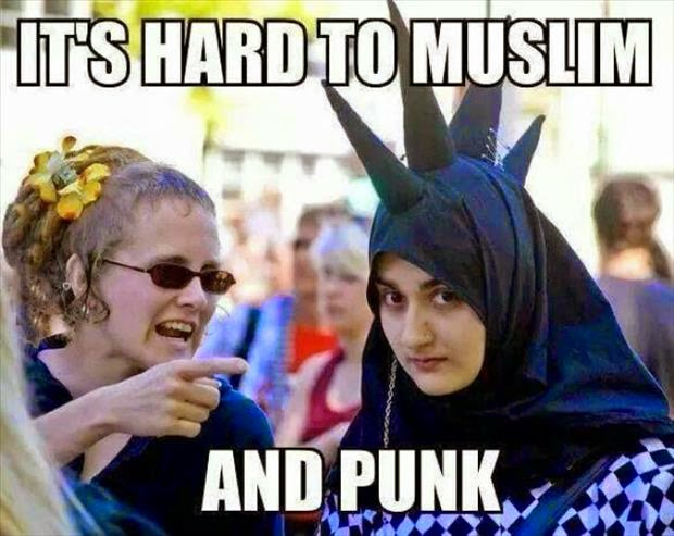 Funny Hard Muslim Punk Joke Picture