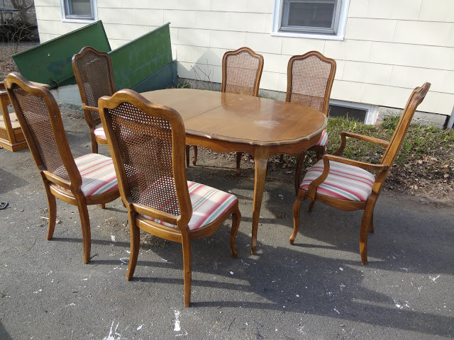 Heir And Space A French Country Cherry Dining Set