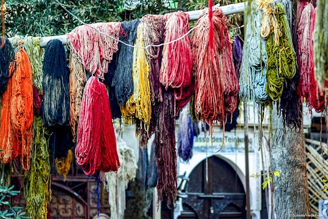 Marrakech, Zoco de los Tintoreros, por El Guisante Verde Project