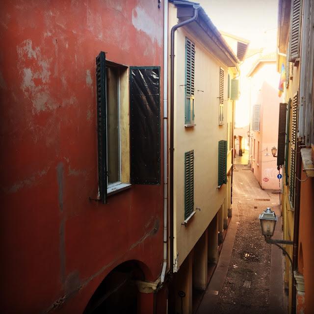 Bologna, bydlení v centru