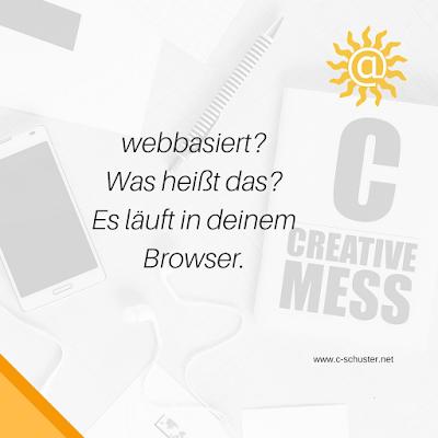 webbasiert - was heißt das eigentlich