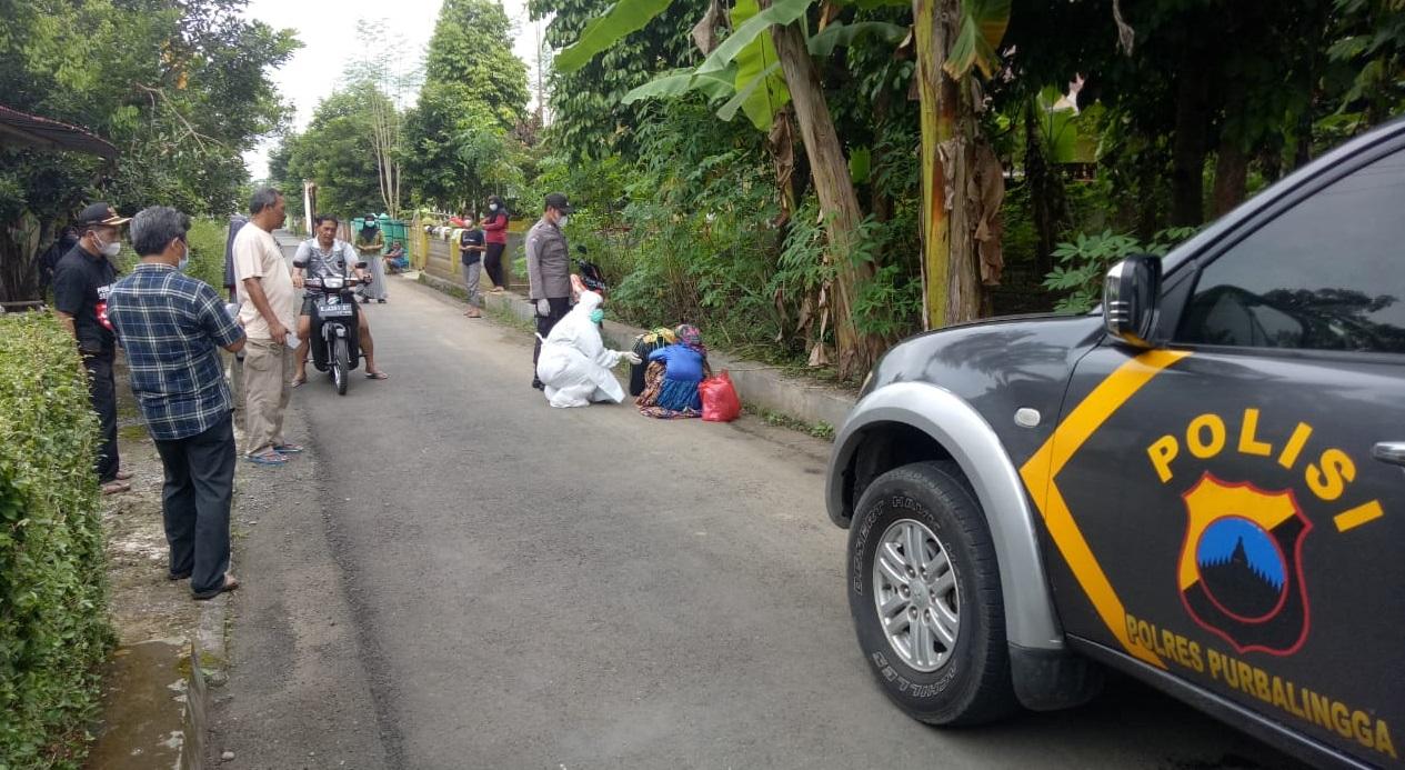 Warga Sumpiuh Ditemukan Tergeletak di Pinggir Jalan Kalimanah, Begini Kronologinya