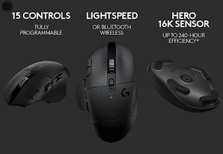 Logitech releases the G604 LIGHTSPEED Wireless Gaming Mouse which lasts 240 hours