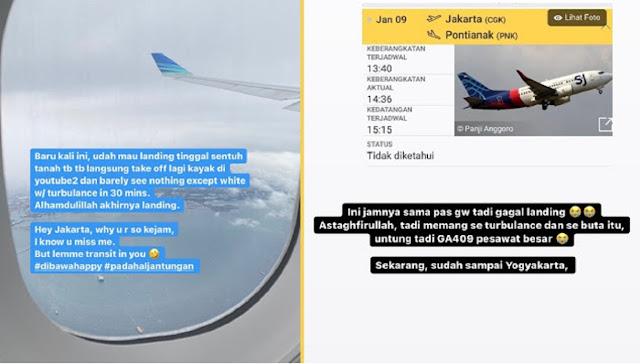 Cerita Ngeri Penumpang Pesawat di Waktu yang Sama dengan Jatuhnya Sriwijaya Air