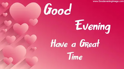 Good Evening heart images