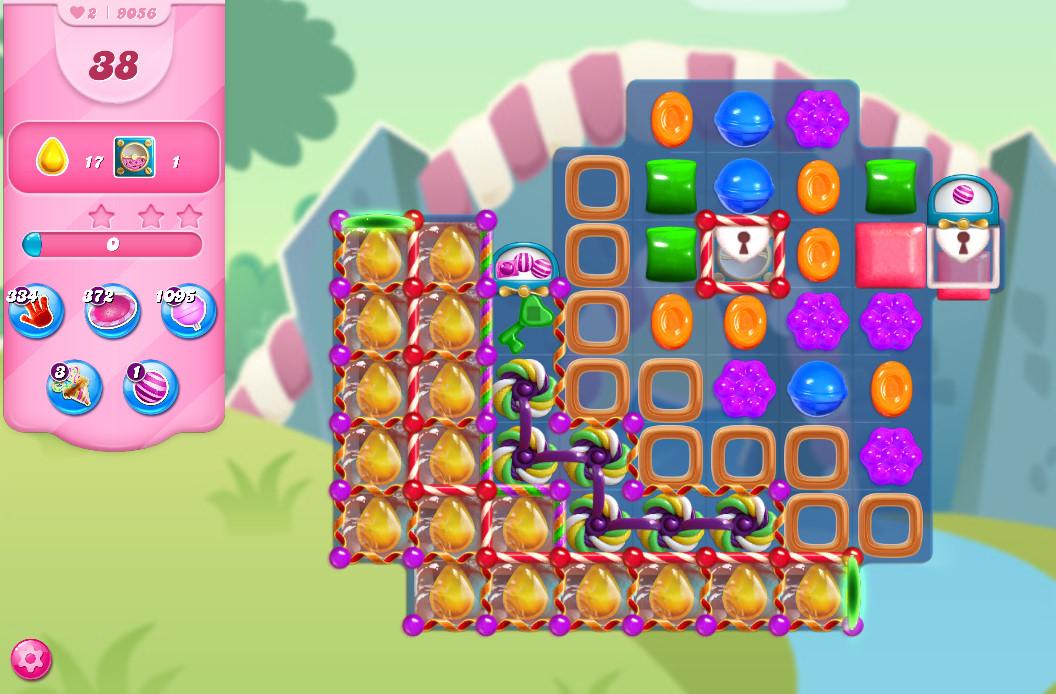 Candy Crush Saga level 9056