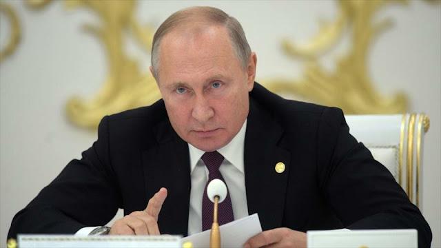 Putin alerta del riesgo de retorno de Daesh tras la agresióm turca